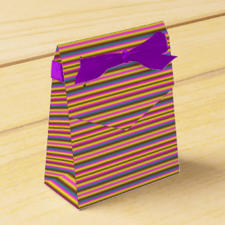 Striped Party Favor Custom Box Wedding Favor Boxes