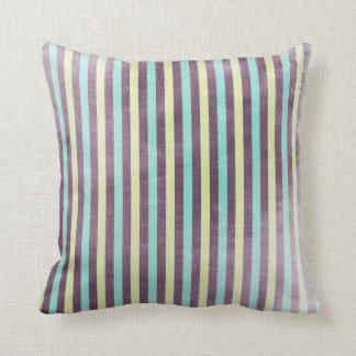 Striped pattern Purple and blue Stripe pillow