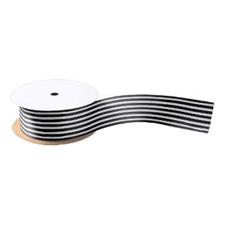 Striped Ribbon Satin Ribbon