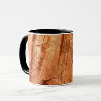 Striped Rock of Double Arch Alcove I Mug