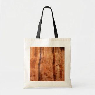Striped Rock of Double Arch Alcove II Zion Park Tote Bag