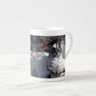 Striped Sea Shell Tea Cup