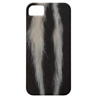 Striped Skunk Fur iPhone 5 Cover