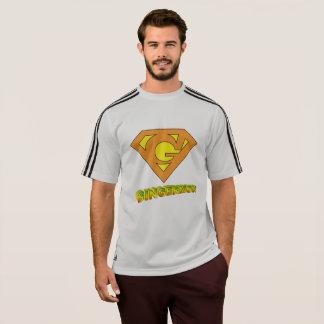 Striped Sleeve Gingermon T-Shirt