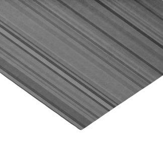 Striped Stripes Gray Grey Pattern Print Tissue Paper