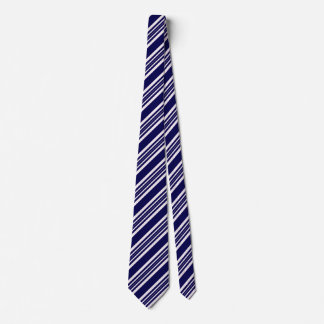 Striped Ties For Men Blue And White
