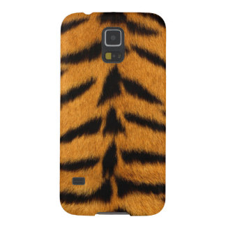 Striped Tiger Skin Cases For Galaxy S5