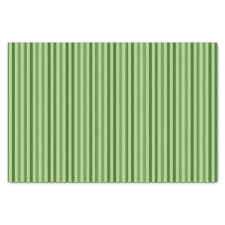 Striped Tissue Paper: Green Stripes Tissue Paper