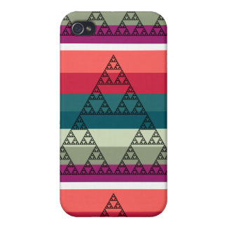 Striped Triangle iPhone Case iPhone 4/4S Covers