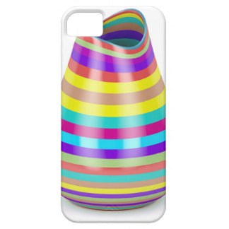 Striped vase iPhone 5 cover