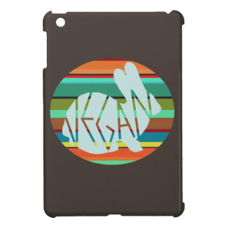 Striped Vegan Bunny Case For The iPad Mini