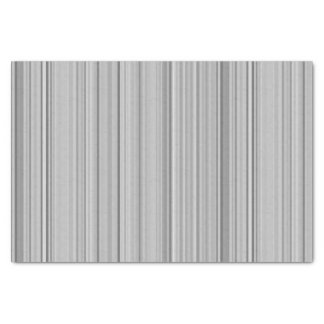 Striped Vertical Stripes White Gray Grey Tissue Paper