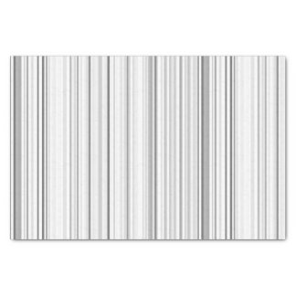 Striped Vertical Stripes White Gray Light Grey Tissue Paper