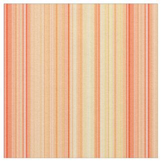 Striped Vertical Stripes Yellow Orange Fabric