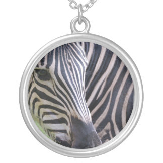 Striped Zebra Necklace