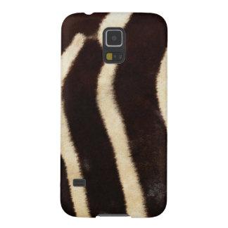 Striped Zebra Skin Case For Galaxy S5