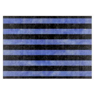 STRIPES2 BLACK MARBLE & BLUE WATERCOLOR BOARDS