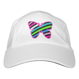 Stripes and Butterflies Hat