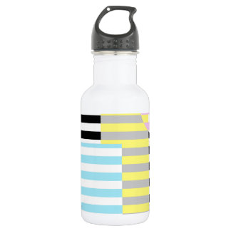 stripes and colours 532 ml water bottle