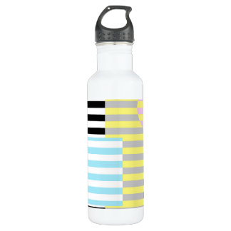 stripes and colours 710 ml water bottle