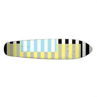 stripes and colours skate board decks