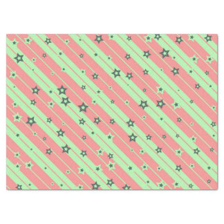 stripes and stars tissue paper