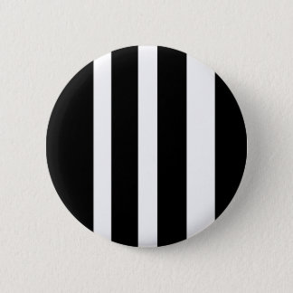 stripes b& w 2 inch round button