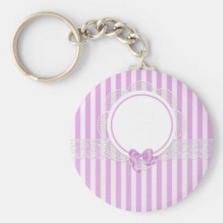 stripes beautiful pattern fashion style rich looks keychain