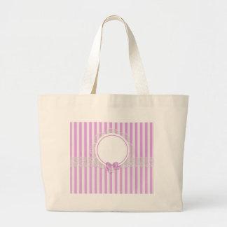 stripes beautiful pattern fashion style rich looks large tote bag