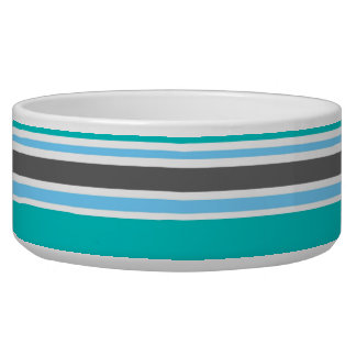 Stripes Blue Green Teal Grey