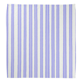 Stripes blue on white bandanas