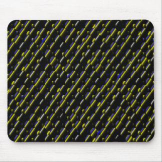 Stripes&Bubbles... Mouse Pad