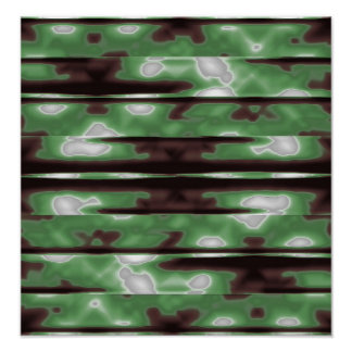 Stripes Camo Pattern Print