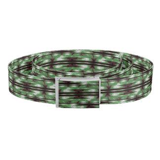 Stripes Camo Pattern Print Belt