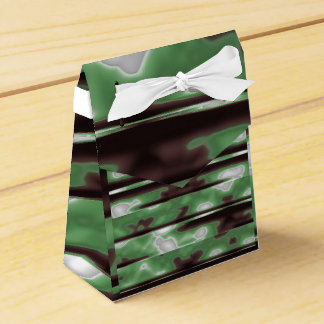 Stripes Camo Pattern Print Favor Box