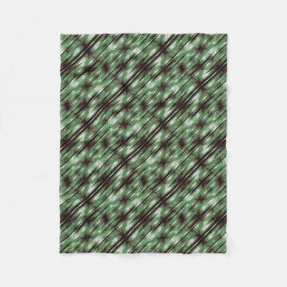 Stripes Camo Pattern Print Fleece Blanket