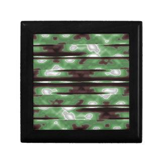 Stripes Camo Pattern Print Gift Box