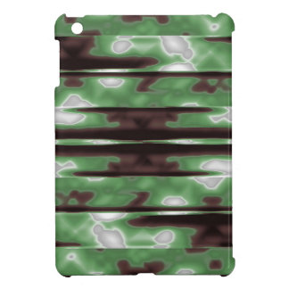 Stripes Camo Pattern Print iPad Mini Cover