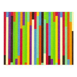 Stripes colorful abstract retro pattern background postcard