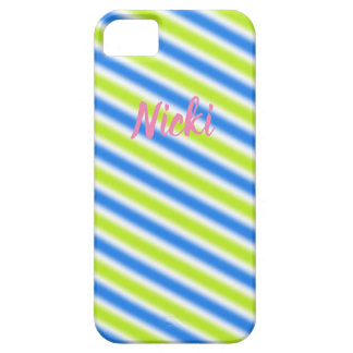"""Stripes"" Contemporary Design Case For The iPhone 5"