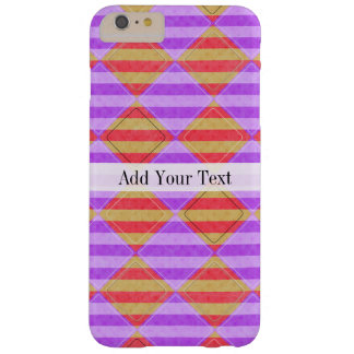 Stripes, Diamonds, Spot Pattern by Shirley Taylor Barely There iPhone 6 Plus Case