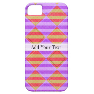 Stripes, Diamonds, Spot Pattern by Shirley Taylor iPhone 5 Cover