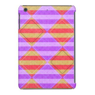 Stripes, Diamonds, Spotted Pattern iPad Mini Retina Covers