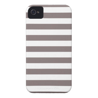 Stripes Driftwood Brown Iphone 4/4S Case