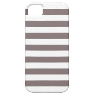 Stripes Driftwood Brown iPhone 5 Case