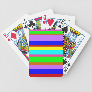 Stripes Galore Poker Deck