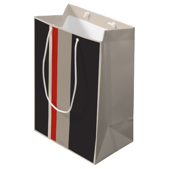 STRIPES Gift Bag - Medium, Matte