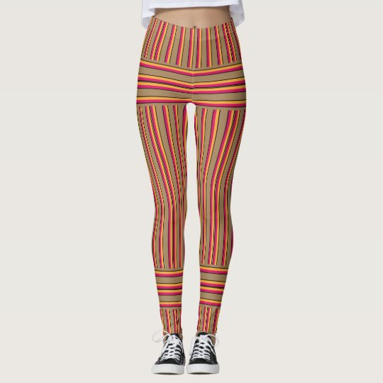 stripes leggings