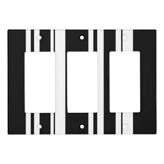 Stripes Light Switch Cover