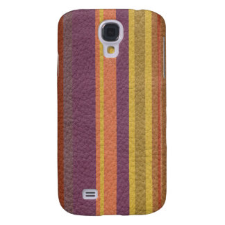 STRIPES & LINES in earthy colors leather print